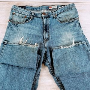 Wrangler Relaxed Boot Cut Jeans Size 34/32